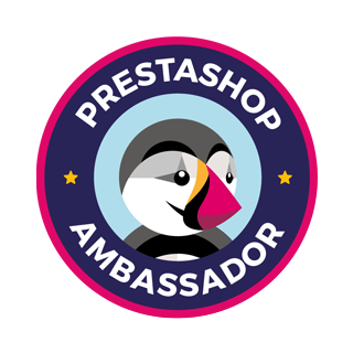 Ambassadeur de la solution e-commerce PrestaShop en France
